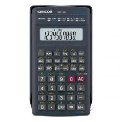 Sencor SEC 229/10 10 számjegyes kijelző, 139 funkció, fekete tudományos számológép