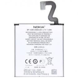 Nokia BP-4GW (Lumia 920) 2000mAh Li-on akku, gyári, csomagolás nélkül
