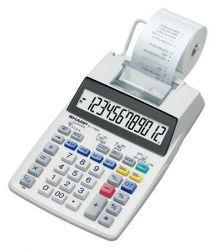 Sharp EL-1750V 12 számjegyű szalagos számológép