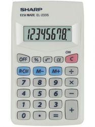SHARP EL-233S 8 számjegyes zsebszámológép