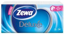 Zewa Deluxe illatmentes 90 db papír zsebkendő