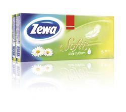 Zewa Softis aloe balsam 10x9 db papír zsebkendő