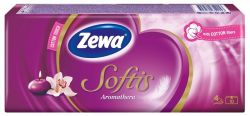 Zewa Softis aromatherapia 10x9 db papír zsebkendő