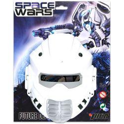 Yuga 72273 (18 x 23 x 5 cm) fehér-szürke űrhajós álarc