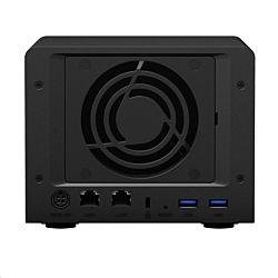Synology DS620slim 2×2,0-2,5 GHz CPU, 2 GB RAM fekete 6 lemezes NAS szerver