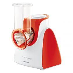 Sencor SSG 3504RD 85 dB, 150 W, piros-fehér szeletelő és reszelő