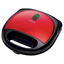 Sencor SSM 4304RD 700W 4-szeletes fekete-piros szendvicssütő
