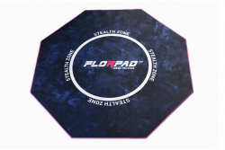 Florpad Stealth Zone 120x120x0,4 cm mintás gamer szőnyeg