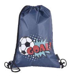 PULSE Score A Goal szürke-kék tornazsák