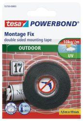 Tesa Powerbond 19 mm x 1,5 m kültéri kétoldalas ragasztószalag