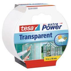 Tesa Extra Power 48 mm x 10 m textil erősítésű átlátszó ragasztószalag