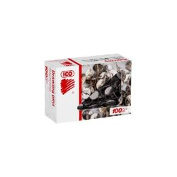 """Ico """"223"""" nikkel ezüst rajzszeg (100 db/doboz)"""