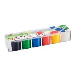 """ICO """"Süni"""" 6x25 ml 6 színű tégelyes tempera készlet"""