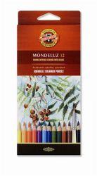 """KOH-I-NOOR """"Mondeluz 3716/12"""" 12 különböző színű akvarell ceruza készlet"""