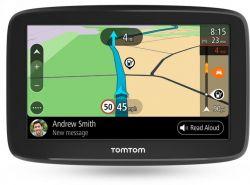 "Tomtom 1BA6.002.00 WIFI, 6"" Life-Time, Road Trips fekete GPS navigáció"