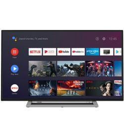 """Toshiba 50UA3A63DG 127 cm (50"""") 4K Ultra HD Smart TV Wi-Fi Fekete, Szürke televízió"""