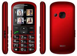 "myPhone Halo 2 2,2"" 24Mb Single SIM 2G piros mobiltelefon"