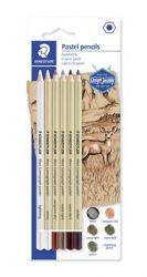 Staedtler Design Journey hatszögletű pasztell ceruza készlet (6 db)