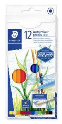 Staedtler Design Journey hatszögletű 12 különböző színű akvarell ceruza készlet (12 db)