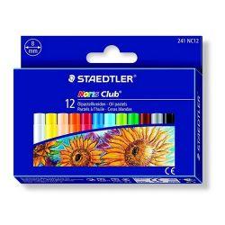 """Staedtler """"Noris Club"""" 12 különböző színű olajpasztell kréta"""