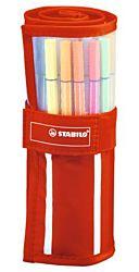 Stabilo Pen 68 30 különböző színű rostirón készlet
