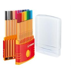 """Stabilo """"Point 88 ColorParade"""" 0,4 mm, 20 különböző színű tűfilc készlet"""