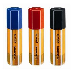 """Stabilo """"Point 88 Big Point Box"""" 0,4 mm, 20 különböző színű tűfilc készlet"""