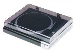 Mac Audio TT 100 BK Bluetooth 2.1 + EDR, 8 W, 33 1/3 / 45/78 RPM fekete-ezüst lemezjátszó Bluetooth funkcióval