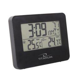 Esperanza Titanum TWS103 ARCUS fekete vezeték nélküli kültéri időjárás állomás