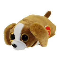 Teeny Ty 37041 (10 cm) SUZIE barna-fehér kutya plüss figura