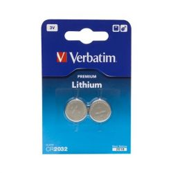 Verbatim 49936 2db 3V CR2032 gombelem