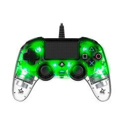 Bigben Nacon vezetékes halványzöld / átlátszó PlayStation 4 kontroller