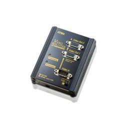 ATEN VS102 2-Portos fali VGA Splitter