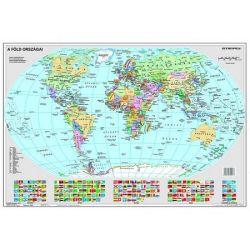 """STIEFEL """"Föld országai/Gyermek-világtérkép"""" kétoldalas könyökalátét"""
