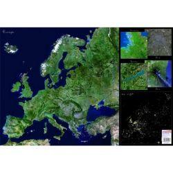 """STIEFEL """"Európa űrtérkép"""" kétoldalas könyökalátét"""