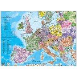 """STIEFEL """"Európa irányítószámos térképe"""" 66x45 cm könyökalátét"""
