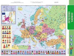 """STIEFEL A4 """"Európa domborzata/ Az Európai Unió"""" tanulói munkalap"""