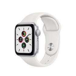 "Apple Watch SE Oled 1.57"" 40mm GPS fehér sportszíjas okosóra"