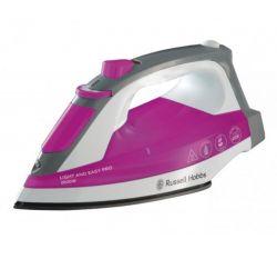 Russell Hobbs Light and Easy Pro 23591-56 2600 W, 240 ml rózsaszín-szürke vasaló