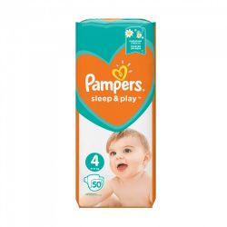 Pampers Sleep & Play 4-es 50 darabos pelenka