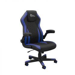 White Shark Dervish K-8879B/BL 76 cm háttámla magasság, 42 cm - 52 cm ülés magasság fekete-kék gamer szék