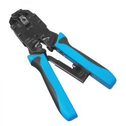 WP Rack WPC-TLA-003 Cabling Pinza da4/6/8 kék krimpelő fogó
