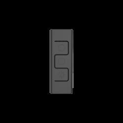 Cooler Master C10L 4-Pin, 12 V, 2 A vezetékes fekete RGB kontroller