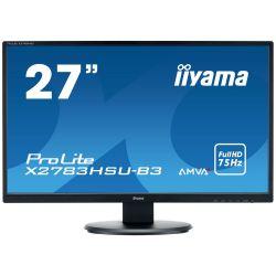 "Iiyama Prolite X2783HSU 27"" LED FHD, AMVA+, DVI, HDMI, USB monitor"