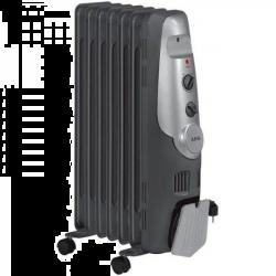AEG RA 5520 600/900/1500W, 3 fokozat fekete-ezüst olajradiátor