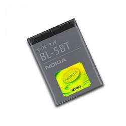 Nokia BL-5BT (Nokia 2600 Classic) 870mAh Li-ion akku, gyári, csomagolás nélkül