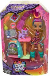 Mattel Cave Club Roaralai őscicás játékszett