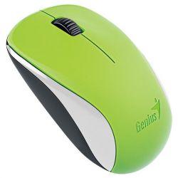 Genius NX-7000 BlueEye 1200DPI optikai USB zöld egér