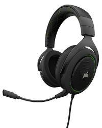 Corsair HS50 vezetékes zöld Gaming headset