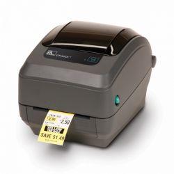 Zebra GK420t thermal transfer/203dpi/USB/Print Server rev 2. címkenyomtató